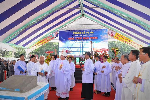 Lễ Đặt Viên Đá Đầu Tiên Xây Dựng Nhà Thờ Giáo Xứ Lô 6 - Ảnh minh hoạ 13