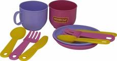 Полесье Набор детской посуды Минутка на 2 персоны
