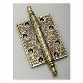 Петля дверная универсальная латунная Venezia CRS011 102 мм французское золото