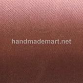 Атласная Лента Skroll, Ширина: 50 мм, Шоколад
