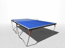 Теннисный стол всепогодный композитный WIPS Any Cover (6 мм, на П-ножках) + сетка с креплениями в подарок