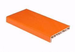 Подоконник ПВХ Crystallit Оранж (матовый) 400мм