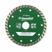 Hammer Диск алм. Hammer Flex 206-112 DB TB 125*22мм турбо , , шт