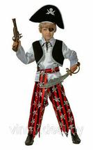 Карнавальный костюм Пират батик Арт. 7012 26 (рост 104 см)