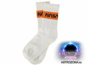 Носки с логотипом NASA (Белые) [37-43]