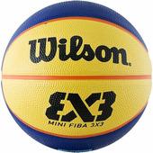 Баскетбольный мяч WILSON FIBA 3X3 Replica Mini N3 (WTB1733XB)