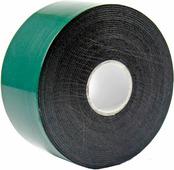 Скотч двухсторонний Rexant, 40 мм х 5 м, зеленый, на черной вспененной ЭВА основе {09-6140}