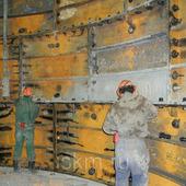 Крепеж для чугунных и бетонных тюбингов