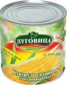 """Овощные консервы Луговица """"Кукуруза сахарная"""", 425 г"""