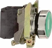 "Кнопка зеленая ""I"" без фиксации 1НО (в сборе) Schneider Electric, XB4BA3311"