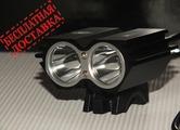Велосипедная фара SolarStorm X2 2000 люмен (комплект)