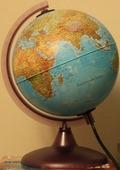Глобус диаметр 20 см с подсветкой (физическая и политическая карты) Nova Rico Орион 20 см