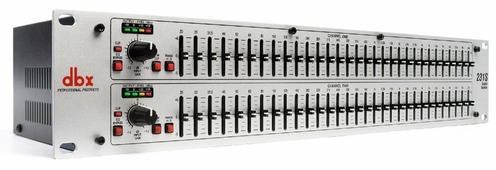 """dbx 231S графический эквалайзер, 2-канальный, 1/3 октавный с постоянной добротностью, 31-полосный. Высота 2U. Вх/вых - XLR, 1/4"""" TRS"""