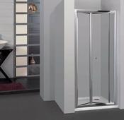Стеклянная душевая дверь RGW CL-21 76-81 см (прозрачное стекло)