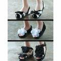 Набор Обуви Tonner Firmly Planted Black and White Shoe Set (Черный и белый стабильность важна для кукол Тоннер)