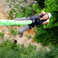 Банджи Джампинг/Тарзанка - экстремальный прыжок с резинкой с крана высотой 60м