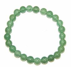 Браслет натуральный камень зеленый Авантюрин