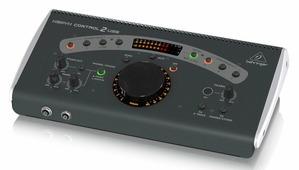 Behringer CONTROL2USB студийный контроллер для мониторов, USB-аудио, 4 стерео-входа, 3 стерео-выхода на мониторы, 2 на наушники, микрофон