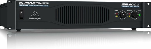 Behringer EP4000 Усилитель мощности 2-канальный 2 х 2000 Вт/ 2 Ом, 2 х 1400 Вт/ 4 Ом, 4000 Вт/ 4 Ом в мостовом режиме