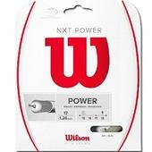 Теннисная струна для ракеток Wilson NXT Power, 1.26 мм., 12 м.