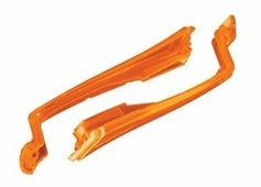 Нижние крышки передних лучей (оранжевые) для квадрокоптера Traxxas Aton