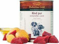 Консервы для собак Hubertus Gold, говядина с картофелем, 800 гр