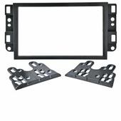 Переходная рамка для установки магнитолы Incar 95-3306A - Переходная рамка Chevrolet Captiva / AVEO / Epica (2006-2011) крепеж
