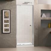 Стеклянная душевая дверь RGW PA-02 113-130 см (прозрачное стекло)