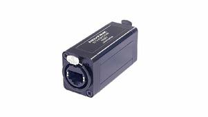Neutrik NE8FF адаптер проходной, RJ45 гнездо - RJ45 гнездо, кабельный