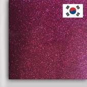 Пленка PROFI FLEX Glitter для плоттерной резки (DMGL-05) Cherry, 1м