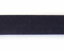 Бейка косая х/б, 14 мм, 60 м (цвет: 105, темно-синий), арт. 08-105/101-190