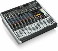 Behringer QX1222USB аналоговый микшер с USB/аудио интерфейсом, микрофонными предусилителеми и компрессорами, беспровод. опциями и Multi-FX,16 каналов, Klark Teknik