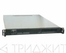 """Cabeus CL-155 Корпус cерверный 19"""" 1U, RM (ДxШxВ)мм: 550x430x44.5, 1x5.25""""+2x3.5""""HDD или 4x3.5""""HDD, без блока питания"""