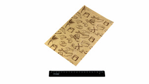 "Пакет бумажный Крафт, печать ""Мельница"" 300*175*60мм.3830/61-M"