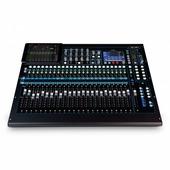 ALLEN&HEATH QU-24C - Цифровой микшер 24 микрофонных/линейных входа, 3 стерео входа, хром