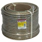 Трос стальной Rexant в ПВХ изоляции, Ø 10 мм (катушка 50 м) {09-5300}