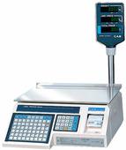 Весы торговые с печатью этикеток Cas LP-30R (v.1.6)