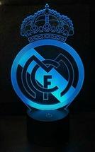 3D светильник Реал Мадрид