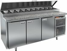 Холодильный стол для пиццы HICOLD PZ2-111/GN камень