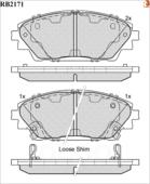 Дисковые Тормозные Колодки R Brake R BRAKE арт. RB2171