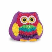 HYQ Набор для детского творчества с аксессуарами для рукоделия Игрушечка-подушечка: сова