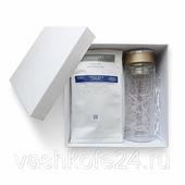 Подарочный набор с листовым чаем Althaus и стеклянным термосом