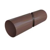 Труба водосточная Альта-Профиль Элит D-95, Коричневый, 4м