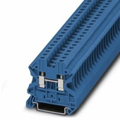 Клеммные соединения UT 4 BU Клеммник на DIN-рейку 4мм.кв. (синий) Phoenix Contact