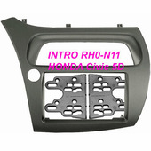 Переходная рамка для установки магнитолы Intro RHO-N11 - Переходная рамка Honda Civic 06+ (H/B 5D)