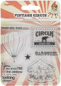 "Набор декоративных штампов ScrapBerry s ""Старый цирк. Карусель"", 7 шт. 7714734"