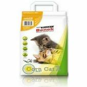 SUPER BENEK Наполнитель S Benek 7л Corn Cat Natural кукурузный для кошек, комкующийся