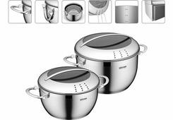 Наборы посуды Набор кастрюль серии MARUSKA 4 предмета 726617 NADOBA 726617