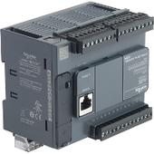 Мультимедийные контроллеры Компактный базовый блок m221-24io транзист источник Schneider Electric