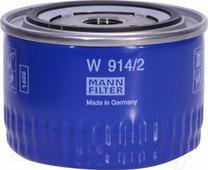 Масляный фильтр Mann-Filter W914/2